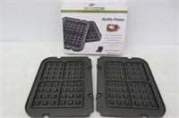 Gvode Waffle Plates for Cuisinart Griddler GR-4N