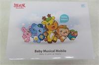 Baby mobile for crib, Baby plush Crib mobile With