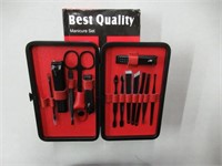 """""""As Is"""" 15 in 1 Manicure Pedicure Set Nail Clipper"""