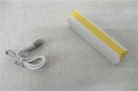 Rrimin 2600mAh Portable External Battery USB
