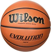 Wilson Evolution Indoor Game Basketball,official ""