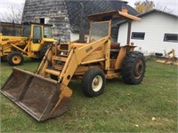 Case 380B Industrial tractor with loader