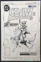 Joe Kubert. Claw  #10 Original Cover Art.
