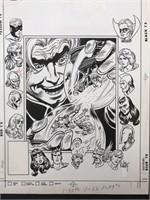 Joe Kubert. All Star Squadron. Cover #14.