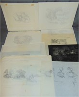 Archive of Animation and illustration Art.
