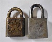 Texaco Lock & US Military Lock