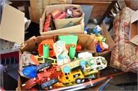 Boxes Old Toys Tonka, Fisher Price