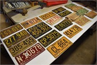 Collection NC License Plates