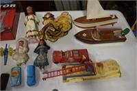 Large Amount Vintage Toys