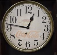 Old Coca Cola Store Clock