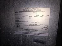 Stainless Continental KC59 keg cooler