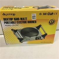 DUXTOP PORTABLE ELECTRIC BURNER