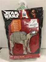 STAR WARS IMPERIAL WALKER COSTUME SZ XL FOR DOGS