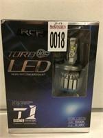 RCP TURBO LED LIGHT H4