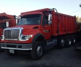 2006 International 7700 Tri-Axle Dump Truck, | HiBid Auctions