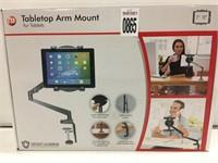 TABLETOP ARM MOUNT TABLET HOLDER