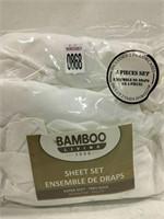 BAMBOO LIVING SHEET SET SZ TWIN