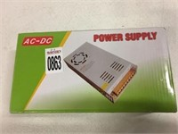 AC TO DC POWER SUPPLY