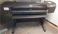HP Designjet 800 Large Format Inkjet Printer, $60.00 Reserve
