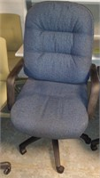 Cushy Fabric Office Chair, $15.00 Reserve