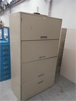 4-Door Metal Cabinet, $20.00 Reserve