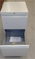 2-Drawer Small Metal File Cabinet, $15.00 Reserve