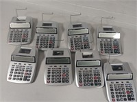 Canon Calculators (lot of 8), $25.00 Reserve