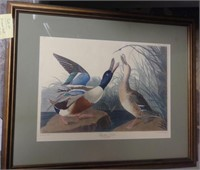 Framed Art (set of 2) - DUCKS/SWANS, $25.00 Reserve
