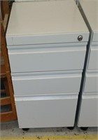 3-Drawer Metal Cabinet on Casters, $15.00 Reserve