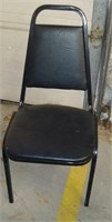 Black Stack Chairs (set of 9), $35.00 Reserve