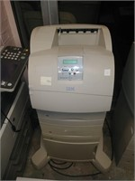 IBM Infoprint 1352 Printer w/ Cart, $55.00 Reserve