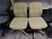 Beige Task Chairs (set of 2), $15.00 Reserve