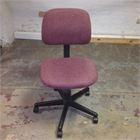 Rose Fabric Task Chair, $5.00 Reserve
