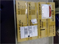 """NEW"" Kyocera Toners(Set of 4), $40.00 Reserve"
