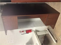 4-Drawer Desk, $30.00 Reserve