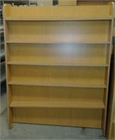A-frame double-sided bookshelf, $30.00 Reserve