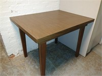 Wood Finish Side Table, $15.00 Reserve