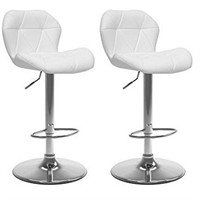 CORLIVING ADJUSTABLE HEIGHT BAR STOOL (2 IN TOTAL)