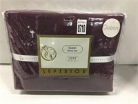SUPERIOR QUEEN SHEET SET