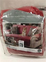 QUILTED FURNITURE PROTECTOR LOVESEAT