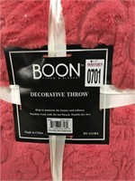 "BOON DECORATIVE THROW 60X80"""