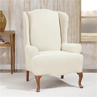 SUREFIT WINGCHAIR SLIPCOVER (CHAIR NOT INCLUDED)