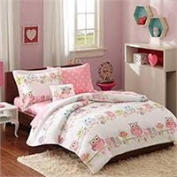 MIZONE KIDS COMPLETE BED AND SHEET SET TWIN