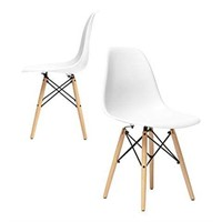 CHELSEA MOLDED PLASTIC SIDE CHAIRS (2 IN TOTAL;