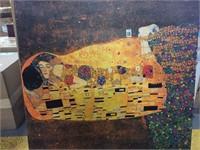 """ART PRINT ON CANVAS, 37""""X37"""""""