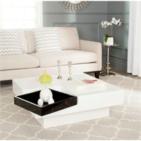 SAFAVIEH COFFEE TABLE (NOT ASSEMBLED)