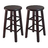 """WINSOME 24"""" STOOL 2 IN TOTAL"""