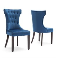 BELLEZE DINING CHAIRS (2 IN TOTAL; NOT ASSEMBLED)