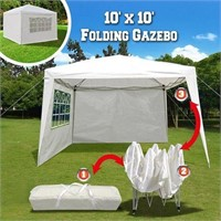 EZ POP UP WEDDING PARTY TENT 10 X 10