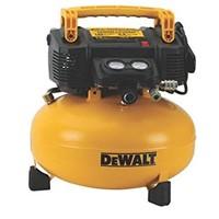 DEWALT 6-GALLON PANCAKE STYLE AIR COMPRESSOR